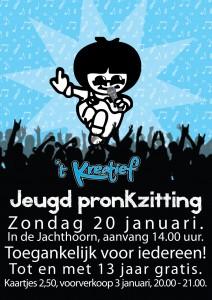 Poster jeugdpronkzitting
